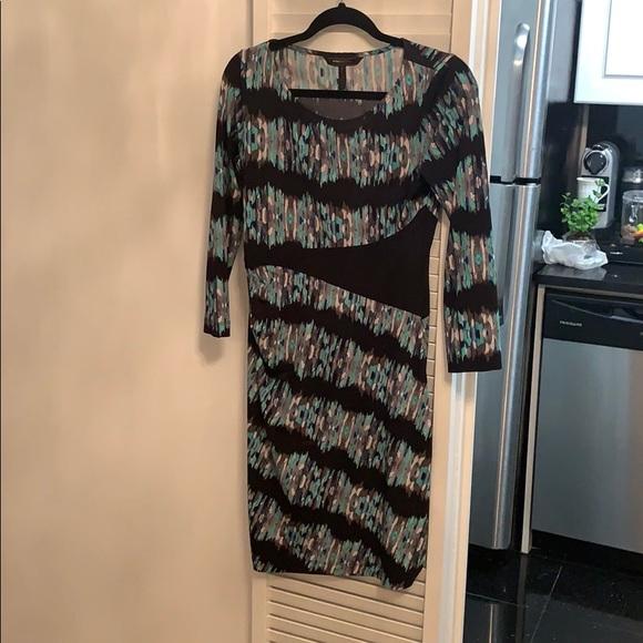 BCBGMaxAzria Dresses & Skirts - BCBG mid length dress